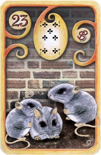 Baralho-Cigano-Carta-23-O-Rato