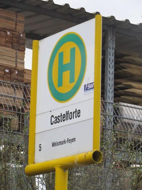 Endhaltestelle Castelforte