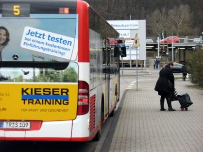 Trier Castelforte Bushaltestelle