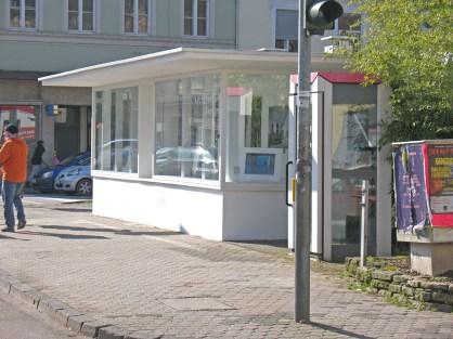Kulturkiosk an der Ecke Kaiserstraße/Südallee