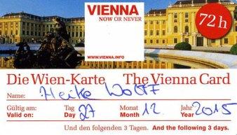 Lohnt sich - die Wien-Karte