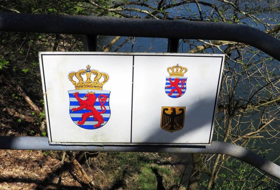 Wandern im deutsch-luxemburgischen Grenzgebiet.