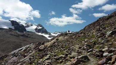 Auf dem E5 über die Alpen © Anke Zormeier/www.linie5.com
