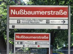 U5 in Ehrenfeld/Neuehrenfeld