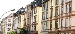 Häuserfassade im Norden