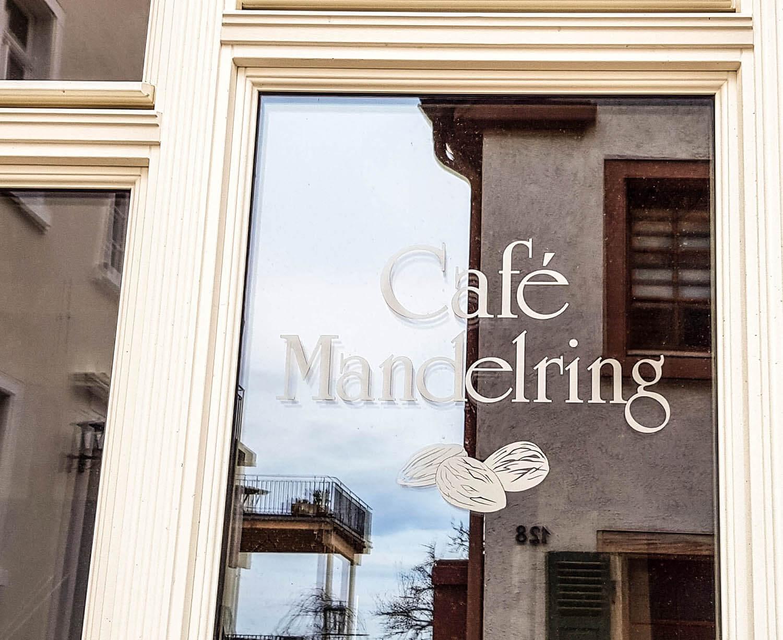 Café Mandelring am Mandelring in Haardt.
