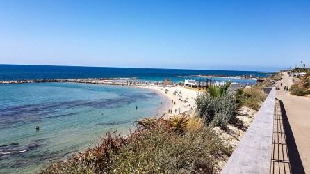 Tel Aviv, Hilton Beach, leicht erreichbar ab Haltestelle: Dizengoff/Jabotinsky