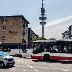 Metrobus der Linie 5.