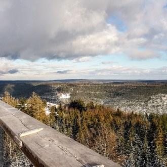 Panorama-Blick vom Aussichtsturm.
