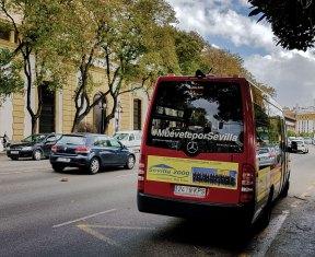 Minibus C5 in Sevilla