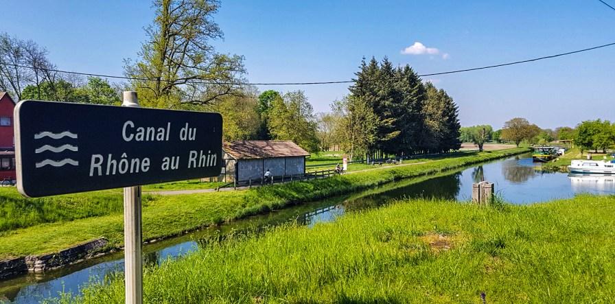 Am Canal Rhône du Rhin
