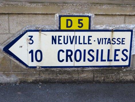 Verkehrsschild Frankreich