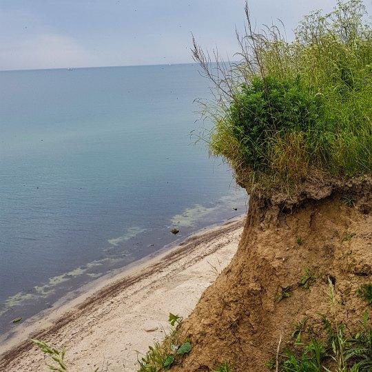Strandwanderung 5 an der Ostsee zwischen Eckernförde und Kiel