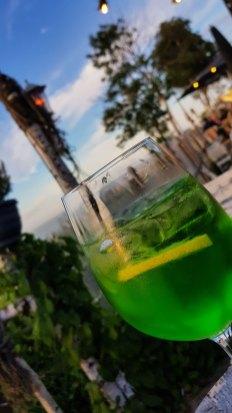 Gute Cocktails gibt es im Blauen Seestern.