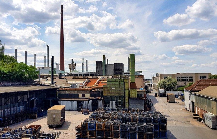 Schwerindustrie im Nürnberger Süden