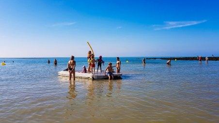 Am Strand von Petites-Dalles.