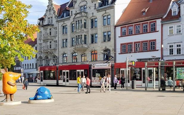 Am Anger in Erfurt