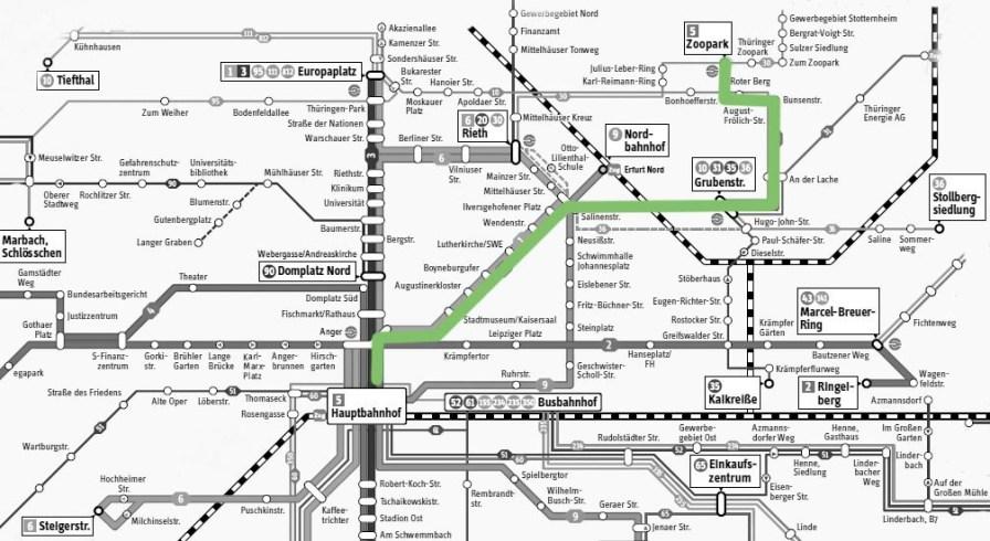 Netzplan-Erfurt