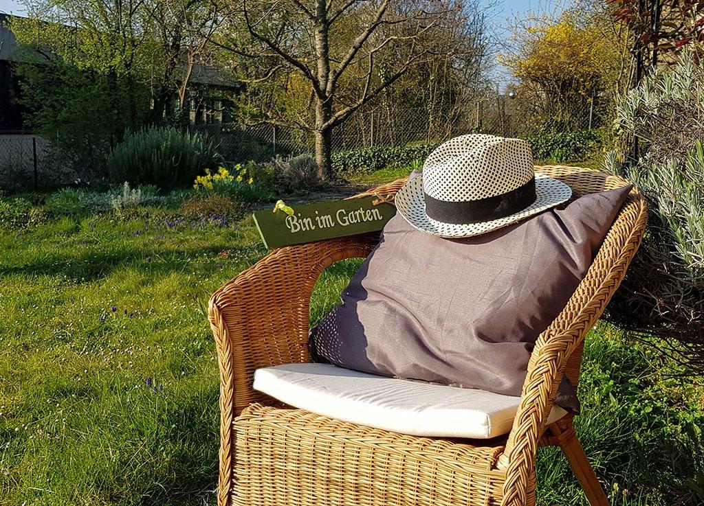 Ferien zuhause im Garten