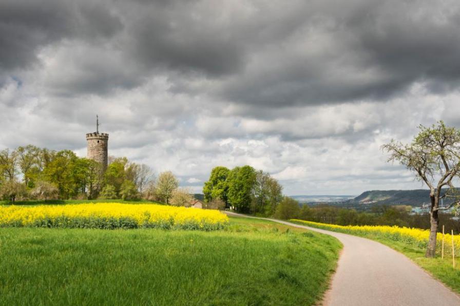 Radwege in Deutschland-Haßberge