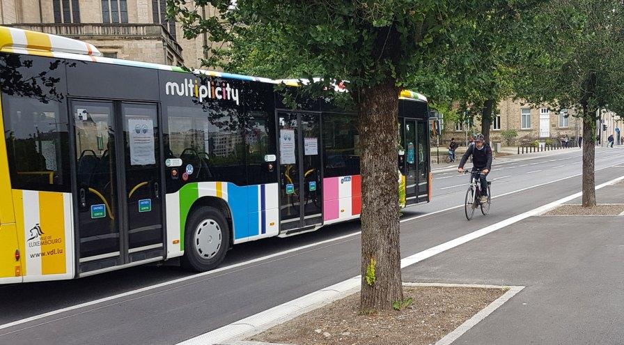 Buslinie 5 Luxemburg-City