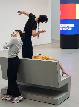 Ongoing action in der Kunsthalle Mannheim