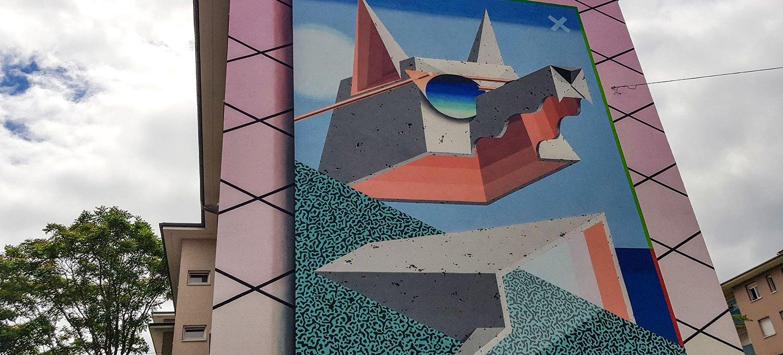 Mural, Graffiti in Mannheim