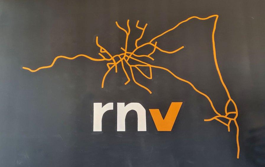 RNV Liniennetz