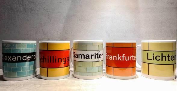 Berlin U5 Frankfurter Allee Hotel Tassen