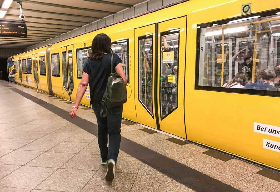 U-Bahnlinie U5 in Berlin