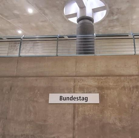 Berlin U5-Bahnhof Bundestag