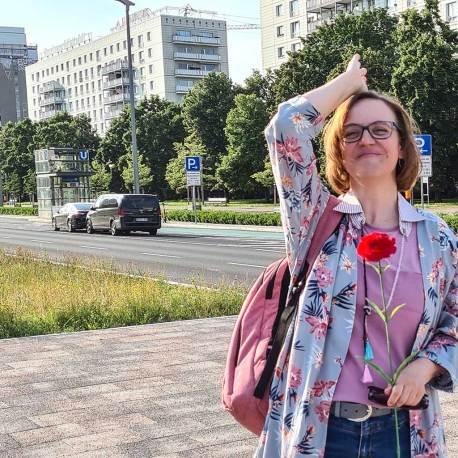 Berlin U5 Doreen Trittel, Karl-Marx-Allee