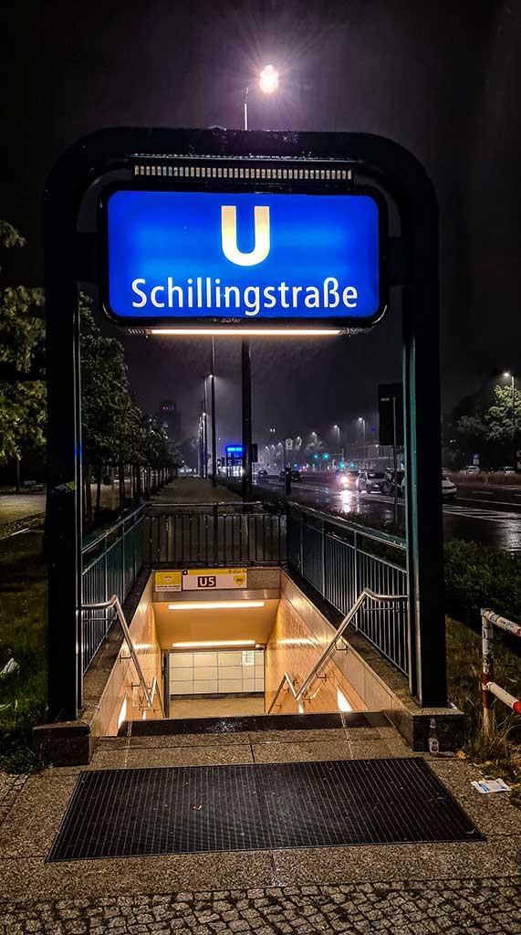 Berlin U5 Schillingstraße