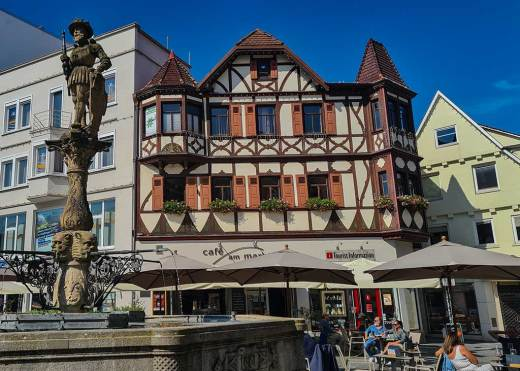 Der Reutlinger Marktplatz