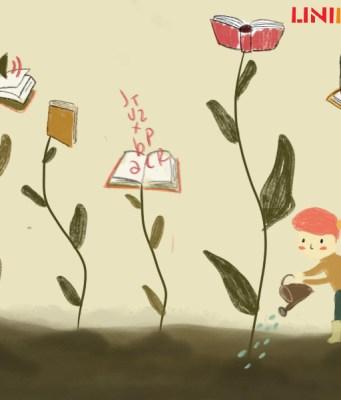 Ilustrasi Mengupacarai Buku [BP2M/Hasna]
