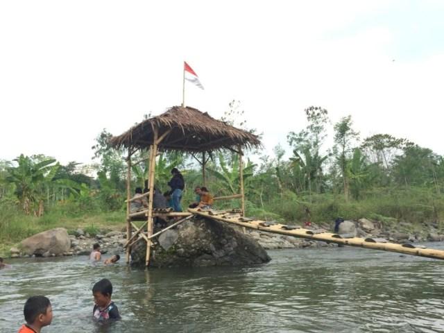 Tempat Wisata Alam Gubug Serut di Dusun Persen, Kota Semarang. [BP2M/Hasnah]