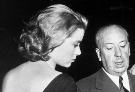 Grace Kelly & Alfred Hitchcock (Courtesy: princessgracekelly.tumblr.com)