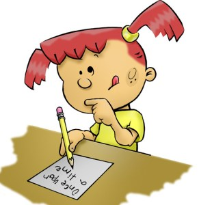 writing-clipart-cartoon-girl-writing-clipart-free-clipart