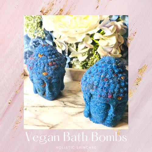 Vegan Buddha Bath Bombs