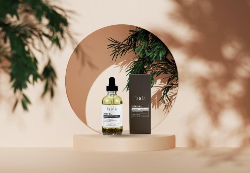 Lavender and Vanilla Bean Body Oil