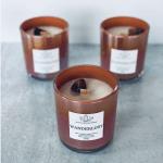 WANDERLUST Crystal Candle: Sheer Orchid & Vanilla