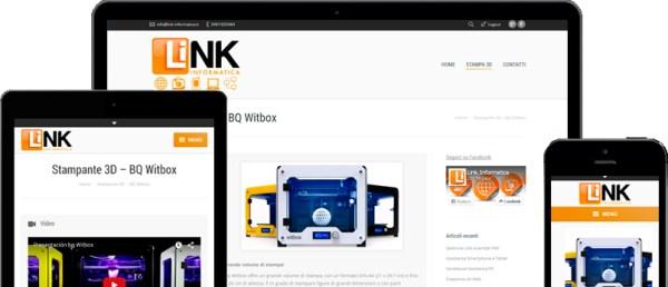 Creazione siti web Link Informatica