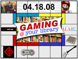 Gaming @ your library logo