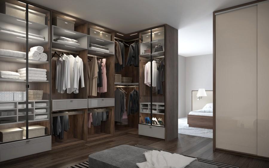 aranzacja garderoby