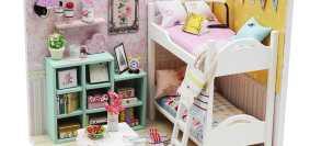 Miniaturowe domki
