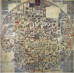 medieval maps map century 14th 11th before intricate retronaut antique ancient era kottke via collection incredible banana link flavorwire