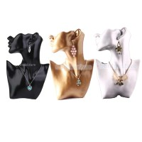 Necklace Stand Retail Earrings Display Bust Mannequin ...