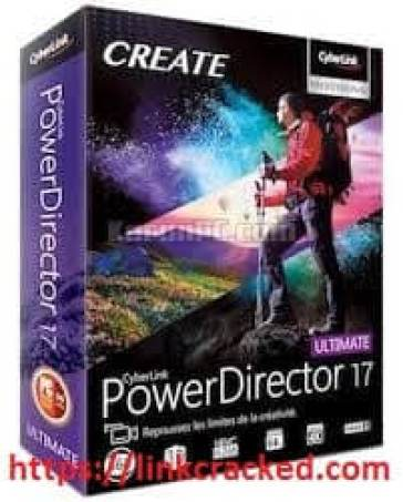PowerDirector 17 Crack