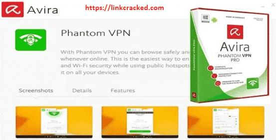 Avira Phantom VPN Pro2.18.1Crack