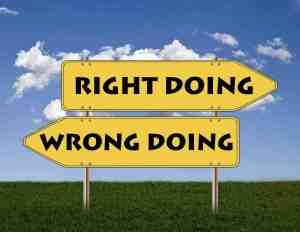 Wer lobt hat vorher festegelegt was richtig und falsch ist